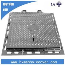 EN124 D400 700x700mm Heavy Duty Ductile Iron Square manhole cover