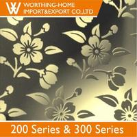 Embossed Hairline Type 201 304 Stainless Steel Sheet Price