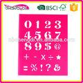 A partir de china fornecedor china fornecedor estêncil de plástico, china pp desenho estêncil, crianças pp estêncil de pintura