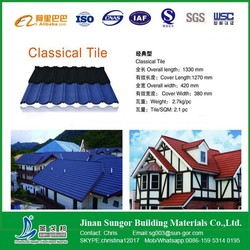 Cheap Price&High Quality Sand Coated Metal Roofing Tiles