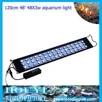 2012 new wholesale led aquarium light mimic sunrise,sunset,lunar cycle remote automatic and manual dimmable