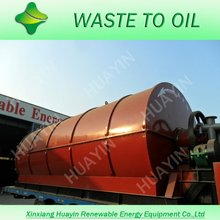 Plastic Scrap Pyrolysis Equipment, Recover Plastics To Diesel Plant With Lifetime Warranty