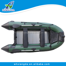 2015 China Factory PVC Material New Design Inflatable Boat with Electric Motor