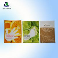 Yongming transprent aluminum foil vacuum facial mask packing bag