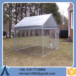 2015 Unique pretty comfortable low price galvanized large outdoor new design high quality pet houses/dog kennels/dog cages