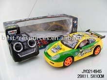 4 channels remote control car
