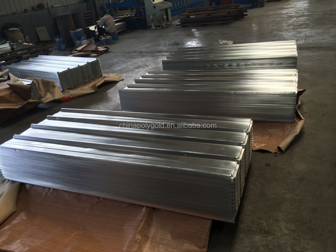 Ghana Popular Ral6005 Green Trapezodial Roofing Sheet