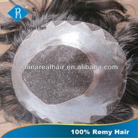 Double Drawn Remy Wholesale cheap toupee for men