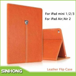 New 2015 Auto Sleep Cover Flip Leather Case For iPad Mini