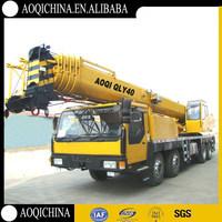 Chinese Manufacturer AOQI 40 ton Improved Truck Crane as 40 ton XCMG Truck Crane