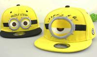 minions baseball hat western style cute baseball hat wholesale fashion child casual peaked cap