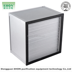Clean-Link H13 deep pleat HEPA filter for pharmaceuticals