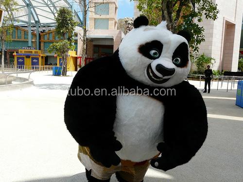 Divertente kung fu panda famoso personaggio dei cartoni