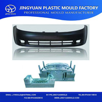 China OEM High quality vehicle auto front bumpers plastic injection mold making factory in Huangyan