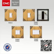 China antique smart home touch light wall power switch