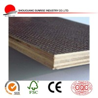 construction materials of black film faced plywood