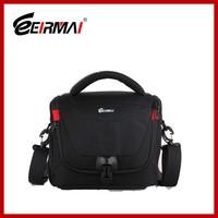 china factory black dslr camera bag waterproof camera bag with shoulder