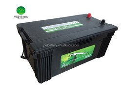 Good price 12V 200ah battery with good quality for car battery