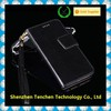 hot selling colorful Classy With Black leather Wallet Phone Case With Studded Flap For for Apple iphone6