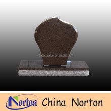 muslim brown granite cheap tombstone and monument NTGT-111