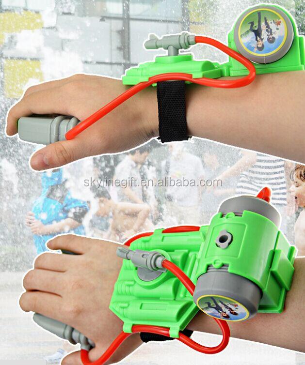 min plastique bras poignet pas cher pistolet eau kid jouet d 39 t pistolet eau vendre arme. Black Bedroom Furniture Sets. Home Design Ideas