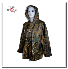 OEM polyester camouflage rainwear