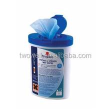 oem disposable nonwoven industrial wet tissue