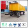 Factory supplier 2 axles mini tractor trailer sales