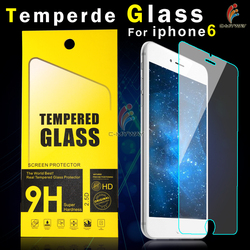 Free Sample 99% Transparent colour screen protector for iPhone 6