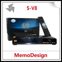 Original S-V8 Openbox V8 Full HD Satellite Receiver hybrid set top box DVB S2 Supported Card Sharing CCcam NEWcam Web TV MPEG-5