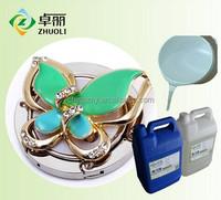 A:B=3:1 transparent liquid epoxy resin AB glue for crystal decor on jewelry
