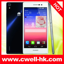 Original Huawei Ascend P7 16G, 5.0 inch 3G Android 4.4.2 Smart Phone, Hisilicon Kirin 910T 1.8GHz Quad Core, RAM: 2GB, Dual SIM