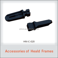 plastic clamp spare parts for heald frame of weaving loom & textile machine