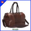 Elegant Dark Brown Genuine Leather Travel Bags, Luxury Leather Travel Duffle Bag, High Quality Mens Leather Travel Duffel Bag