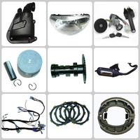 Scooter plastic body parts & turbo kit & motorcycle chain