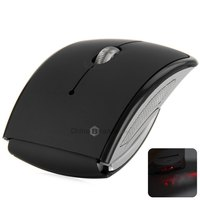 E05 2.4GHz Foldable USB 2.0 Wireless Mouse Gaming Mouse Computer Mouse Mice with 1600DPI Mini Snap-in Receiver for Laptop PC