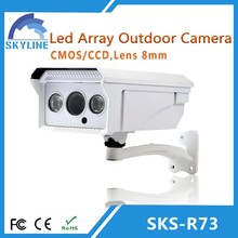 hd cctv camera 2pcs LED Array Waterproof cmos ir camera