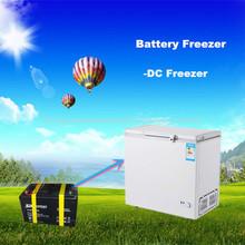 Yilang 6108L solar congelador 12v dc congelador con triciclo helado del 12volt nevera campamento congelador