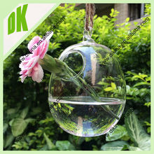 wonderful for storing beautiful things good condition...no chips or cracks custom Clear egg shaped glass jar terrarium