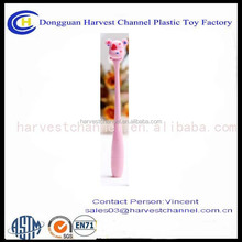 funny high quality bendable plastic ball pen CUTE PVC PEN