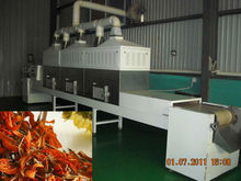 microwave flower tea drying and sterilization machine