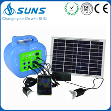 Volume produce promotional price 10w home solar kit