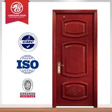 fashion room door, engineering solid merbau wooden door, art deco style doors