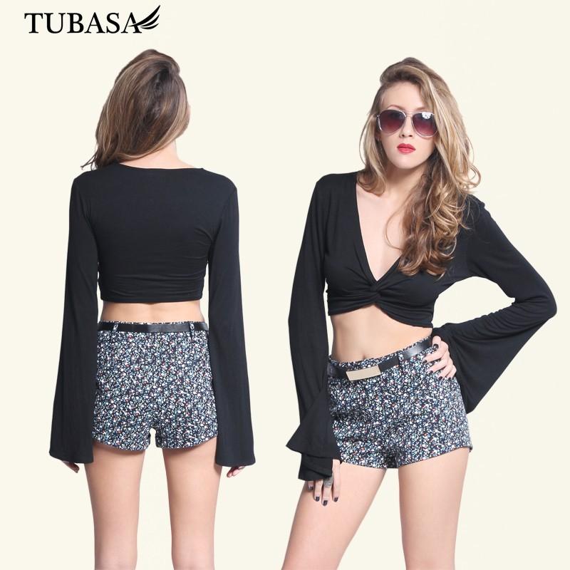wholesale clothing manufacturers black sleeve v