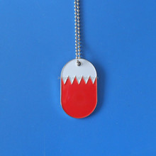 Custom/OEM Country flag dog/pet/cat id tags for person gift, decoration charm/pendant with ball chai