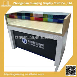 Fashion Design Phone Store Mobile Phone Display Counter Stand
