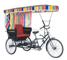 2014 Hot sales sightseeing pedicab/Passenger pedicab/rickshaw model TC 93