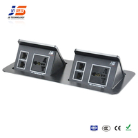 brushed multimedia interface aluminium socket box