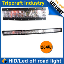 50 inch headlight auto 12v led driving light for truck 4X4 264W LED work light 4WD offroad tractor auto lamp
