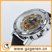 new arrival skeleton automatic machanical watch for men D00194Z